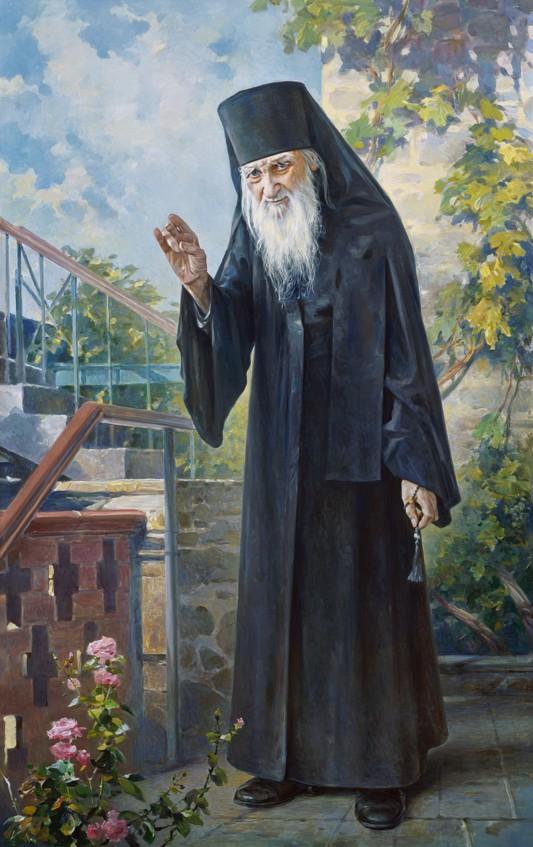 Василий Нестеренко. Монашеское благословение