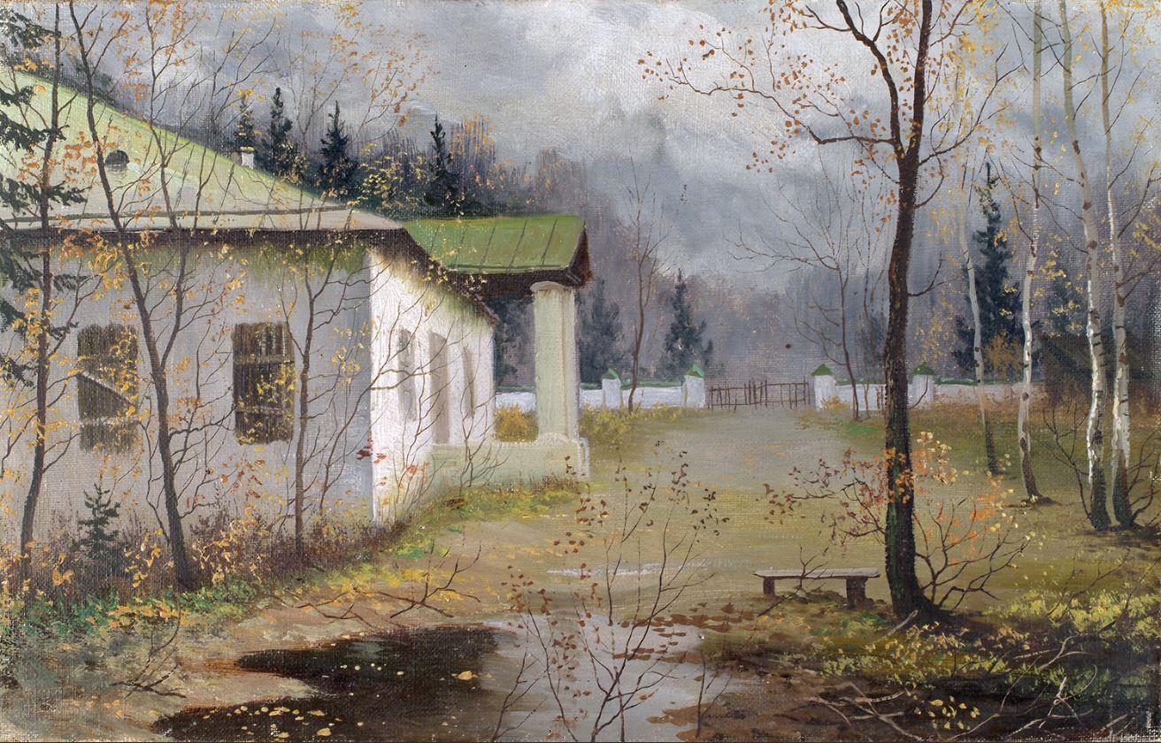 Зотов Н. Осень. Помещичья усадьба