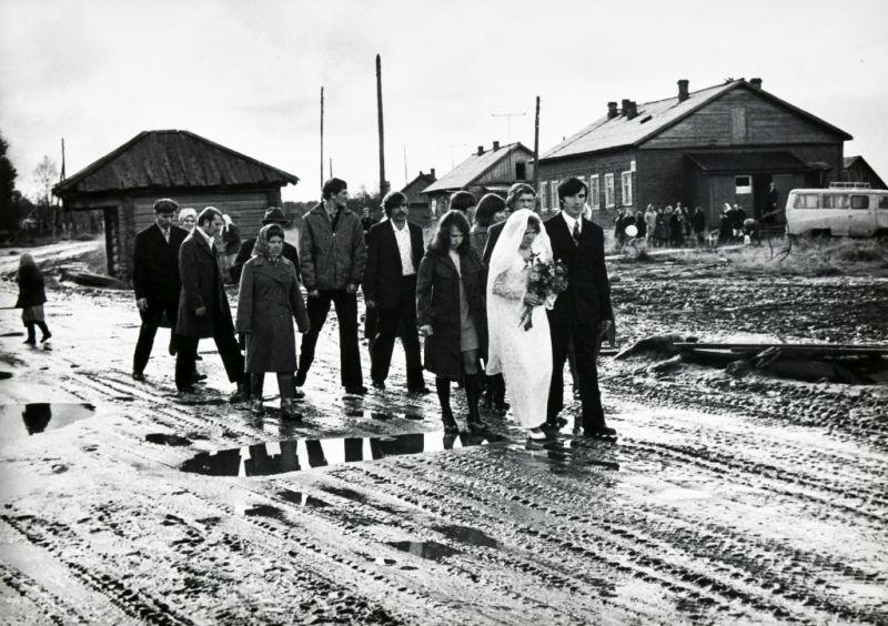 Олег Полещук. Свадьба в деревне. Карелия, 1982