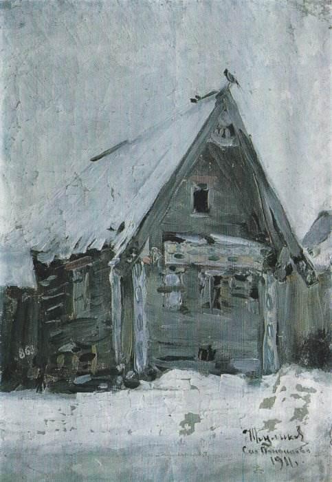 И.С. Куликов. Дом в Панфилове