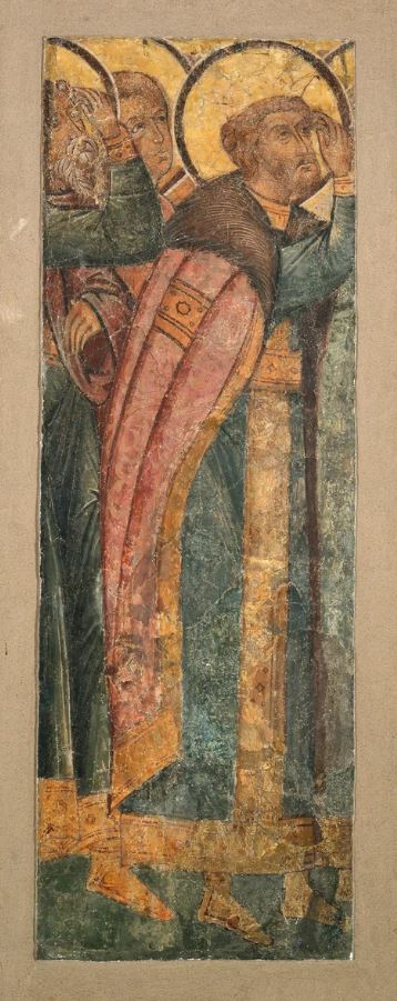 Фреска Троицкого собора затопленного Троице-Макарьева монастыря. Ктиторский портрет Алексея Михайловича