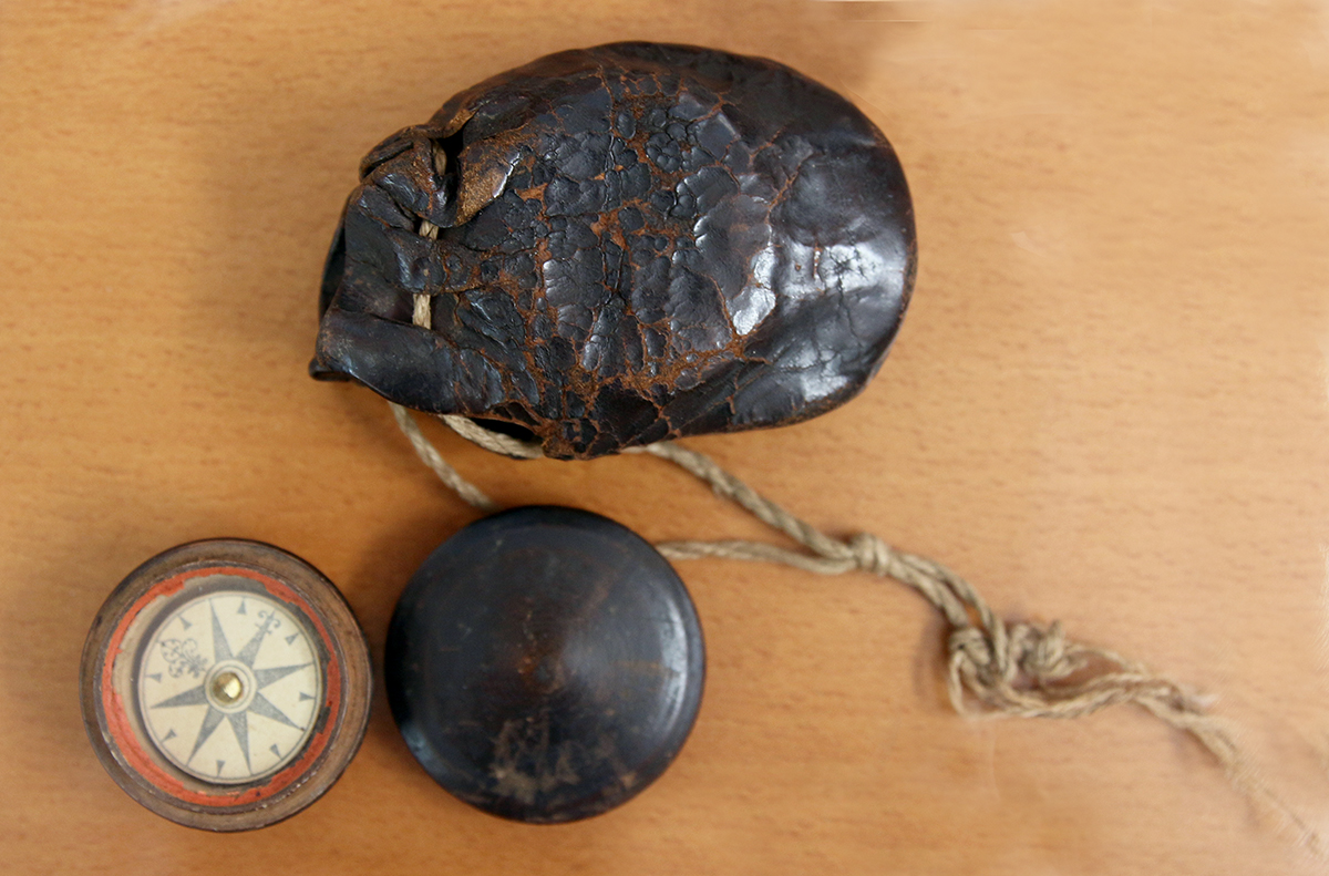 Поморский компас-маточка. Российская империя, XVII в