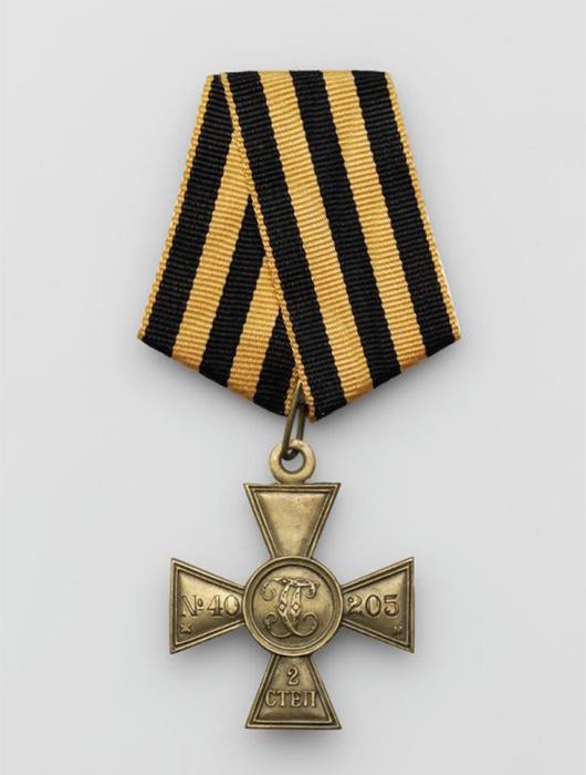 ГЕОРГИЕВСКИЙ КРЕСТ II СТЕПЕНИ Россия, 1916-1917 гг