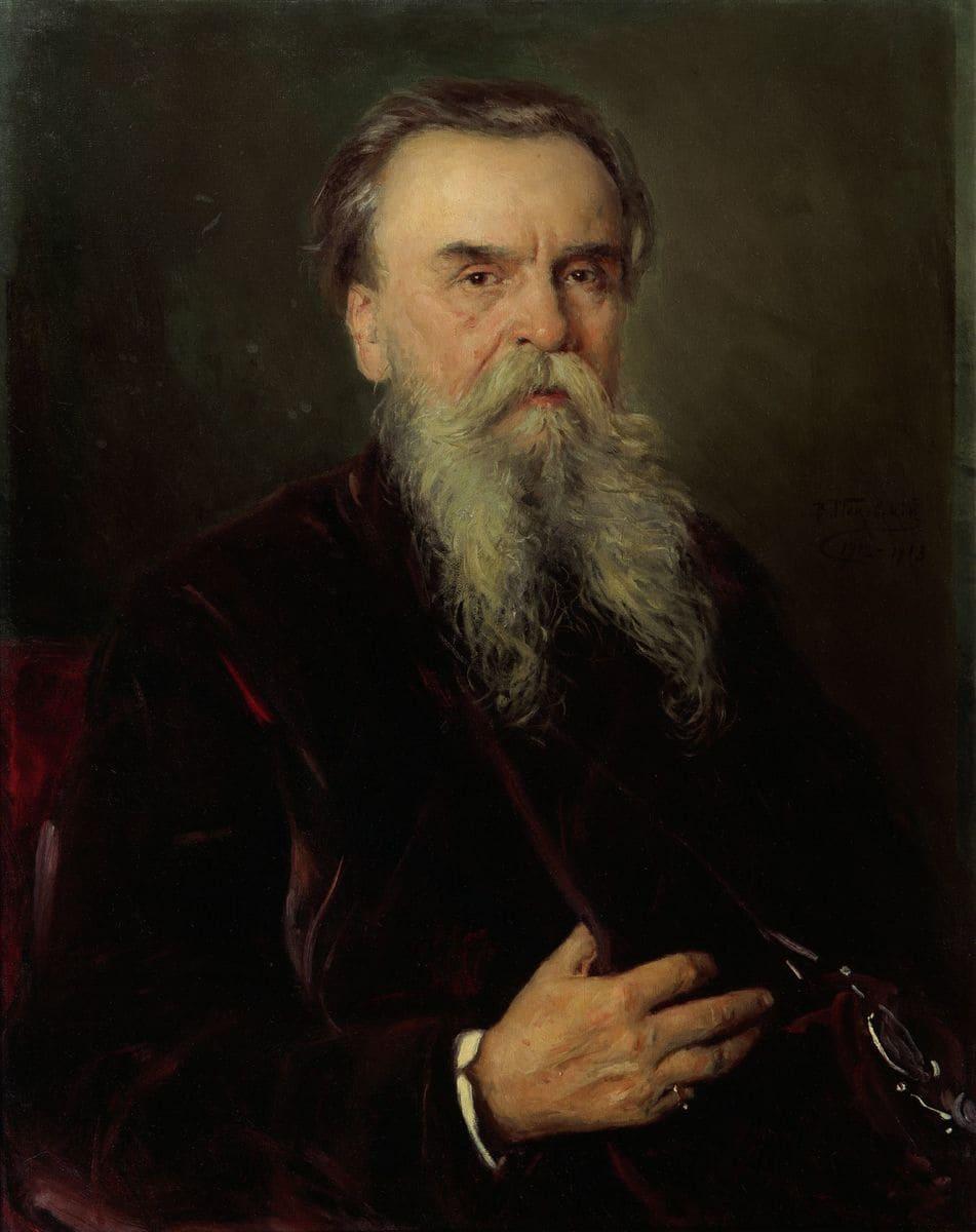 Маковский В.Е. Портрет Ивана Евменьевича Цветкова (1845-1917). 1912-1913