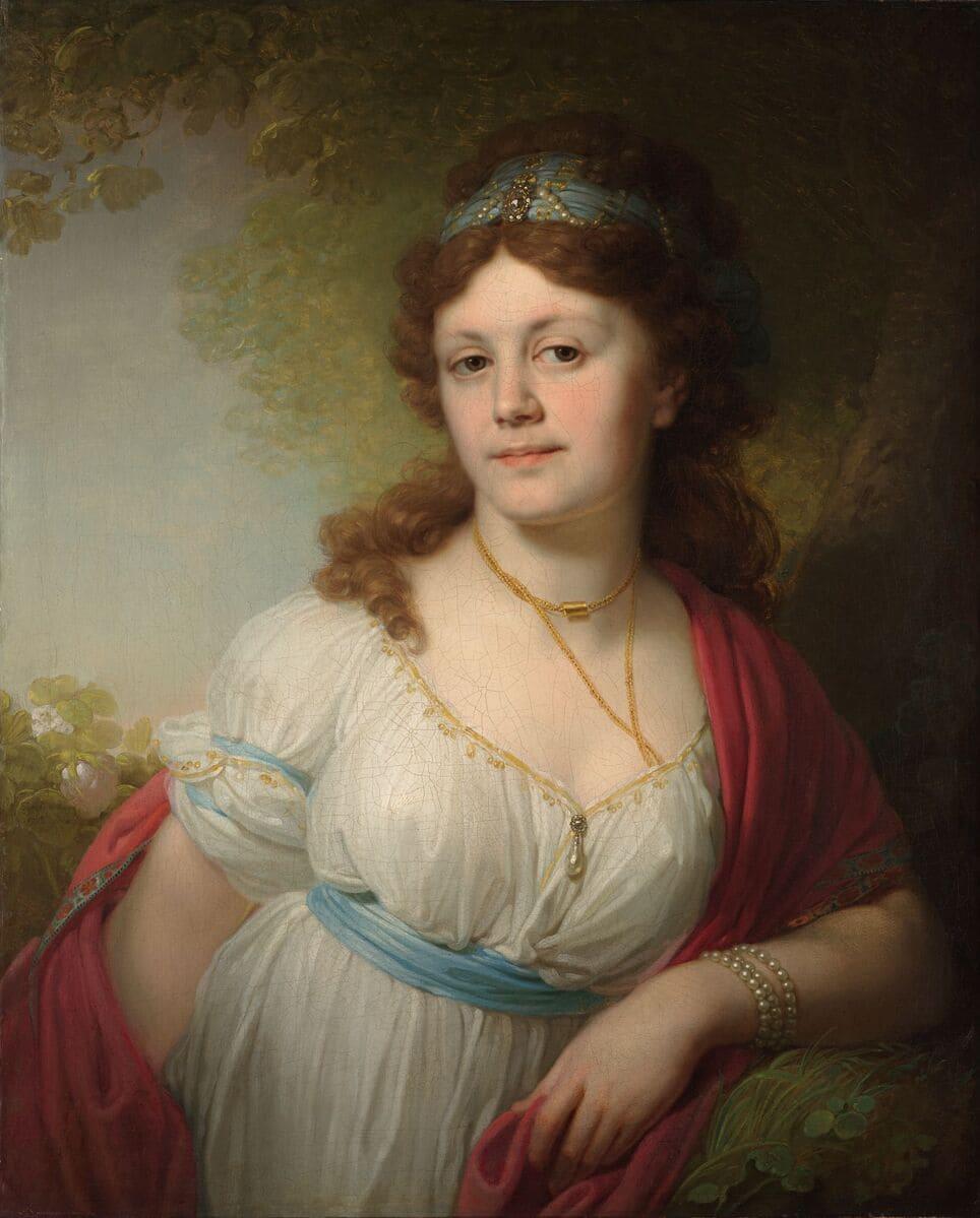 Боровиковский В.Л. Портрет Елизаветы Григорьевны Темкиной. 1798