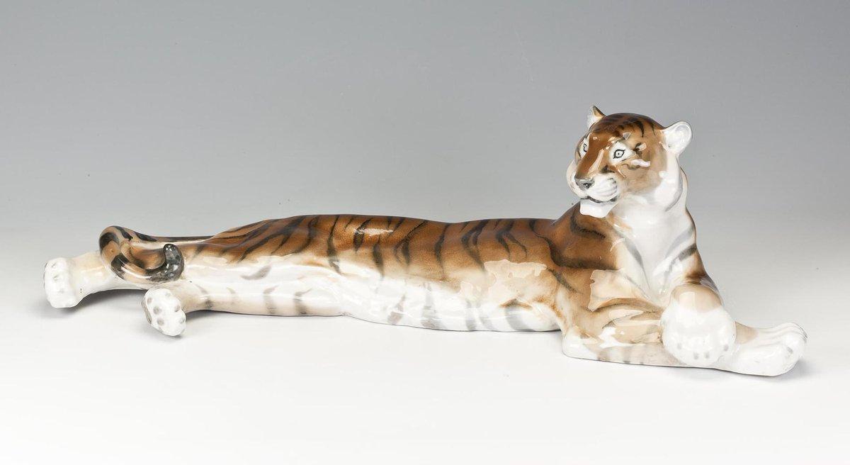 Борис Воробьёв - Тигр лежащий, 1958
