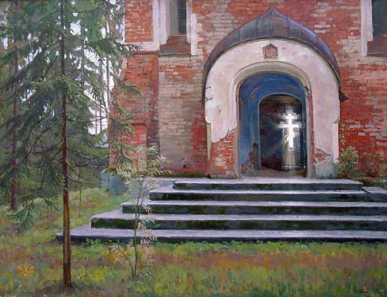 Григорий Чайников - Валаам. Смоленский скит, 1990