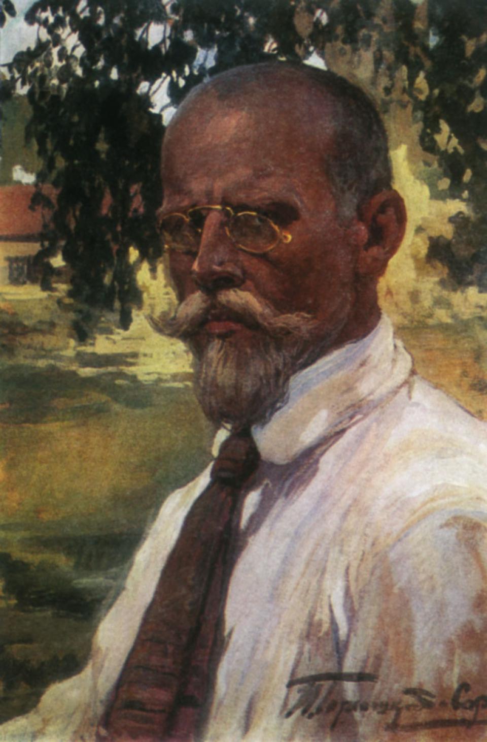 И. С. Горюшкин-Сорокопудов. Автопортрет, 1923
