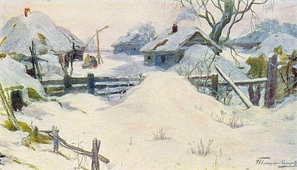 И. С. Горюшкин-Сорокопудов - Зима, 1910