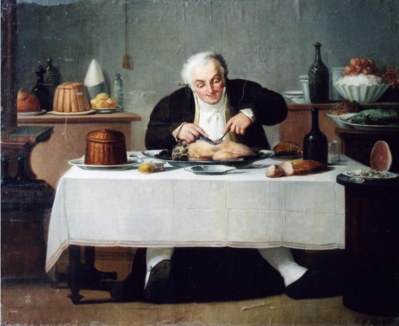 Неизвестный художник XVIII в. Обжора