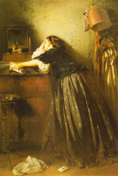 Константин Маковский. Вдовушка. 1865
