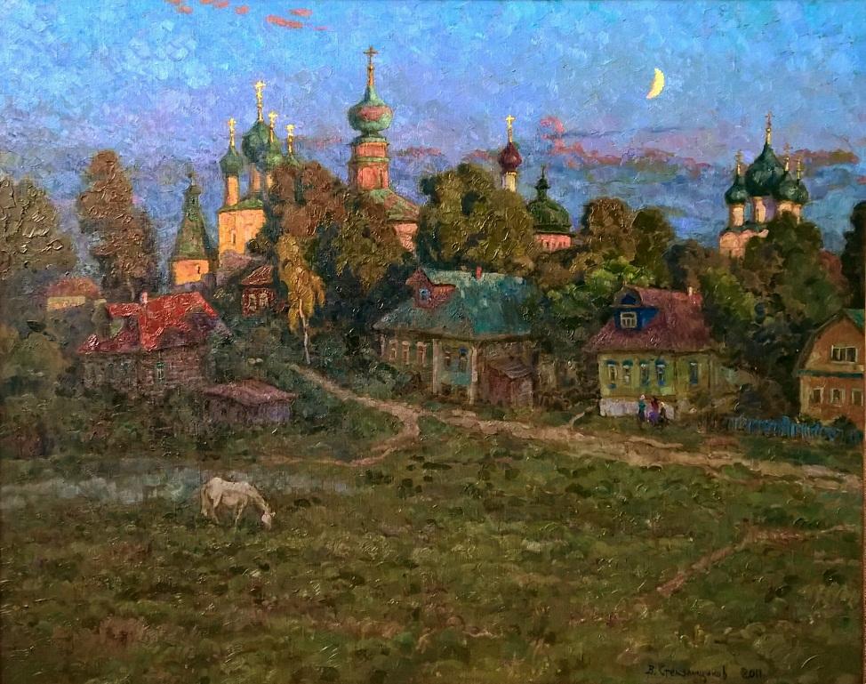 Вячеслав Стекольщиков. Вечерний звон. 2011