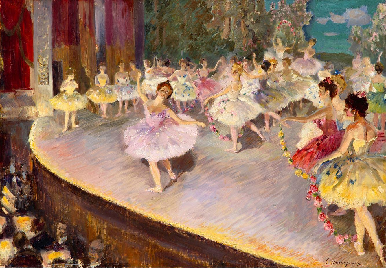 С.А. Виноградов - Балет, 1910-е