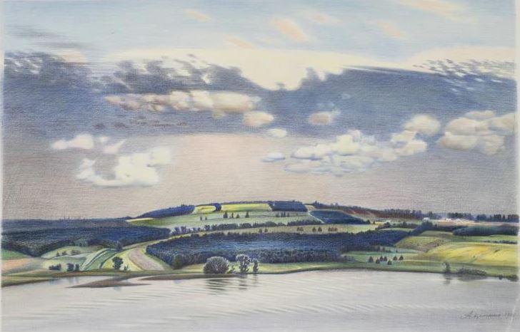 Аркадий Колчанов - Июльские поля, 1985