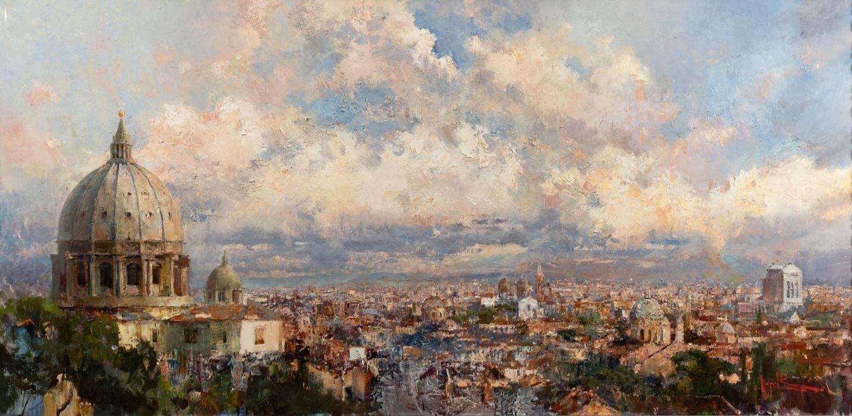 Панорама Рима, 2016