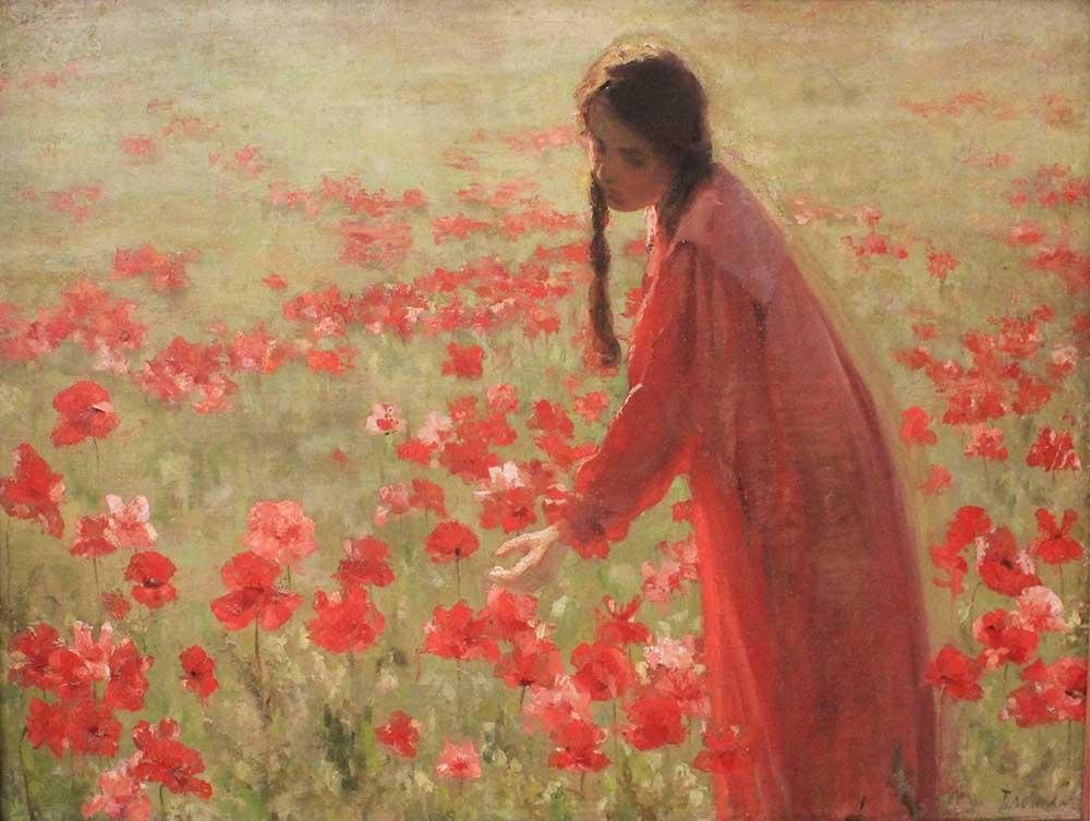 Блонская Серафима Иасоновна - Маки, 1903
