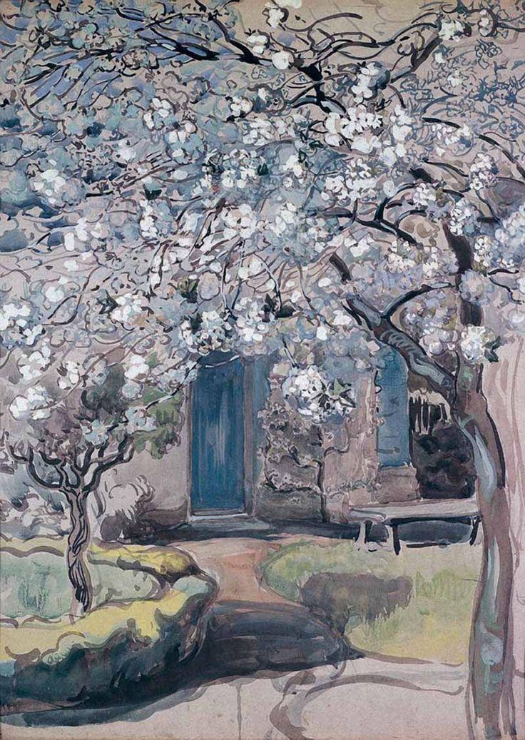 Якунчикова-Вебер М.В. Цветущие яблони. Дерево в цвету, 1899