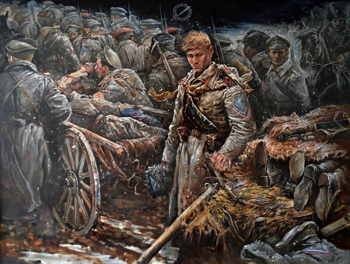 Андрей Ромасюков - Ледяной поход. Претерпевшие до конца