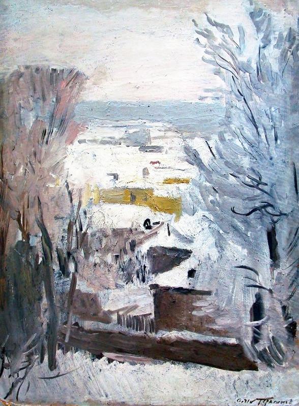 С.В. Герасимов - Зимка, 1946