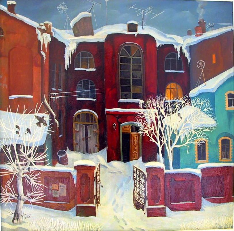 С.Г. Дьяков - Зимнее утро, 1980
