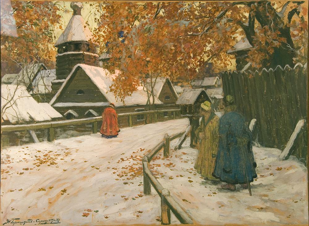 Горюшкин-Сорокопудов Иван Силыч (1873-1954). Старая Русь.