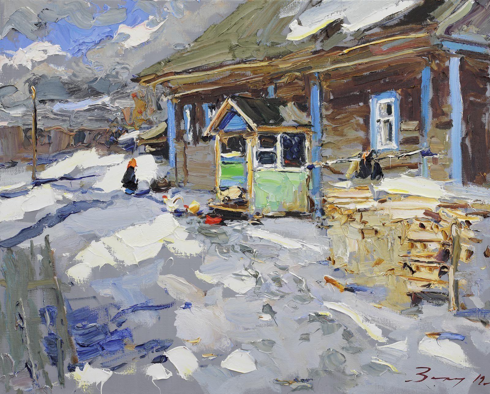 Работа Андрея Захарова