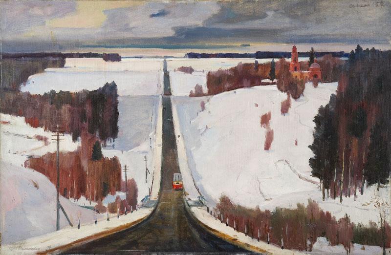 Георгий Нисский - Сенежское шоссе, 1959