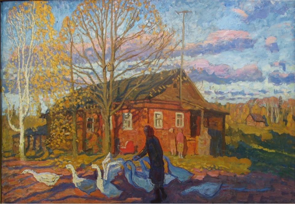 А.П. Ткачев и С.П. Ткачев - Осенний вечер, 1980