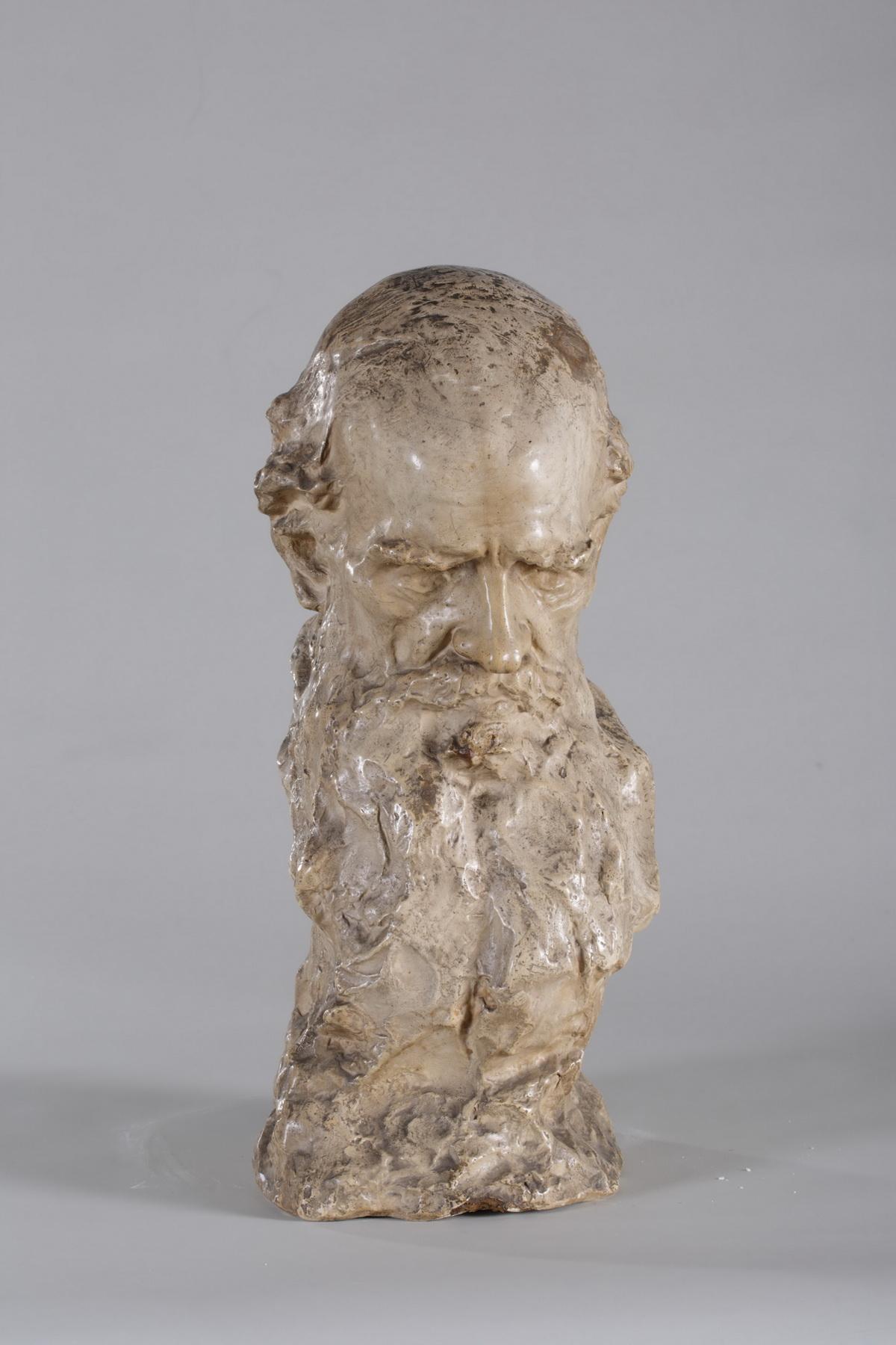 Аронсон Н.Л. Л.Н. Толстой. Голова. 1901