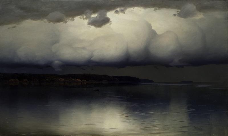 Н.Н. Дубовской - Притихло. 1890