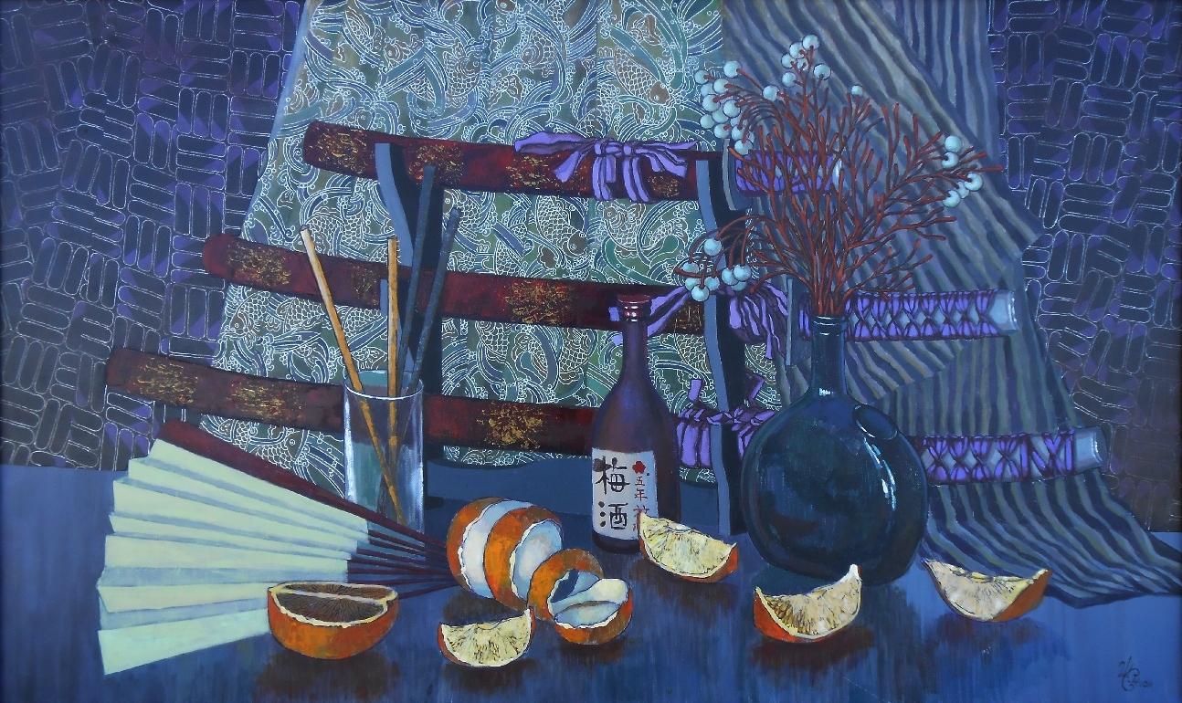Синишина-Шпирко М. Японский натюрморт, 2014