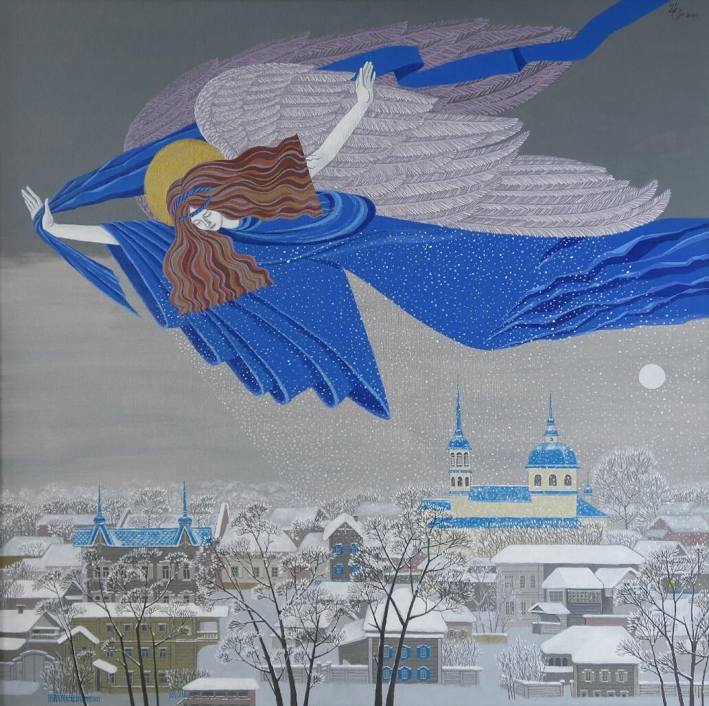 Синишина-Шпирко М. Ангел-хранитель моей мамы. 2014