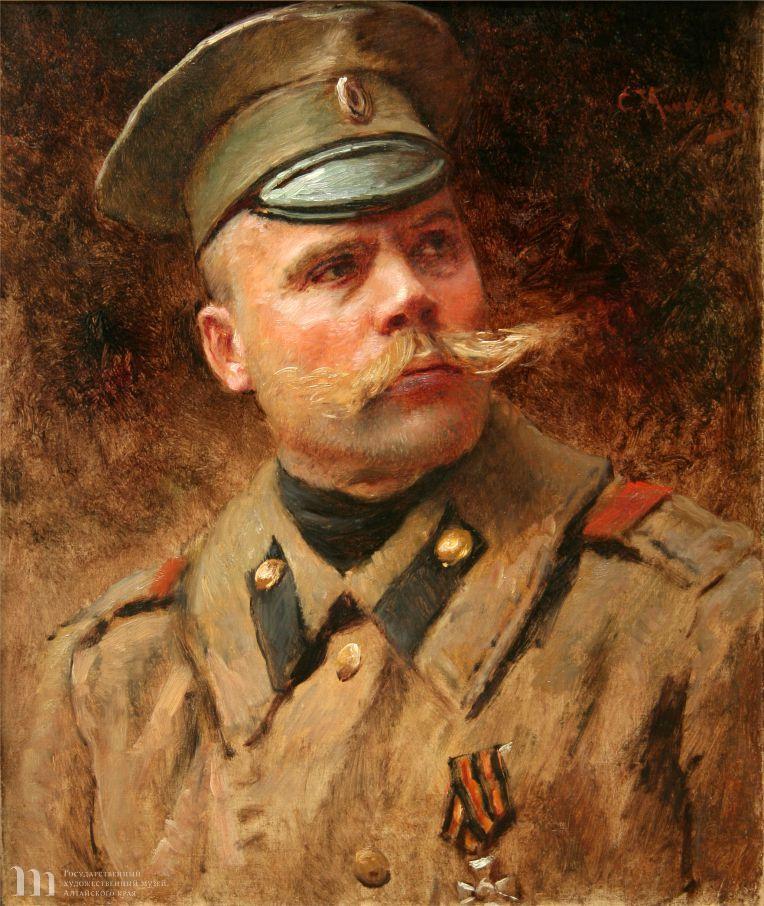 Константин Егорович Маковский «Унтер»