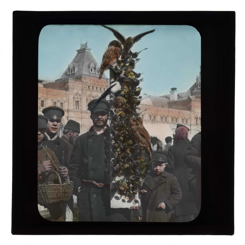 Вербный торг на Красной площади