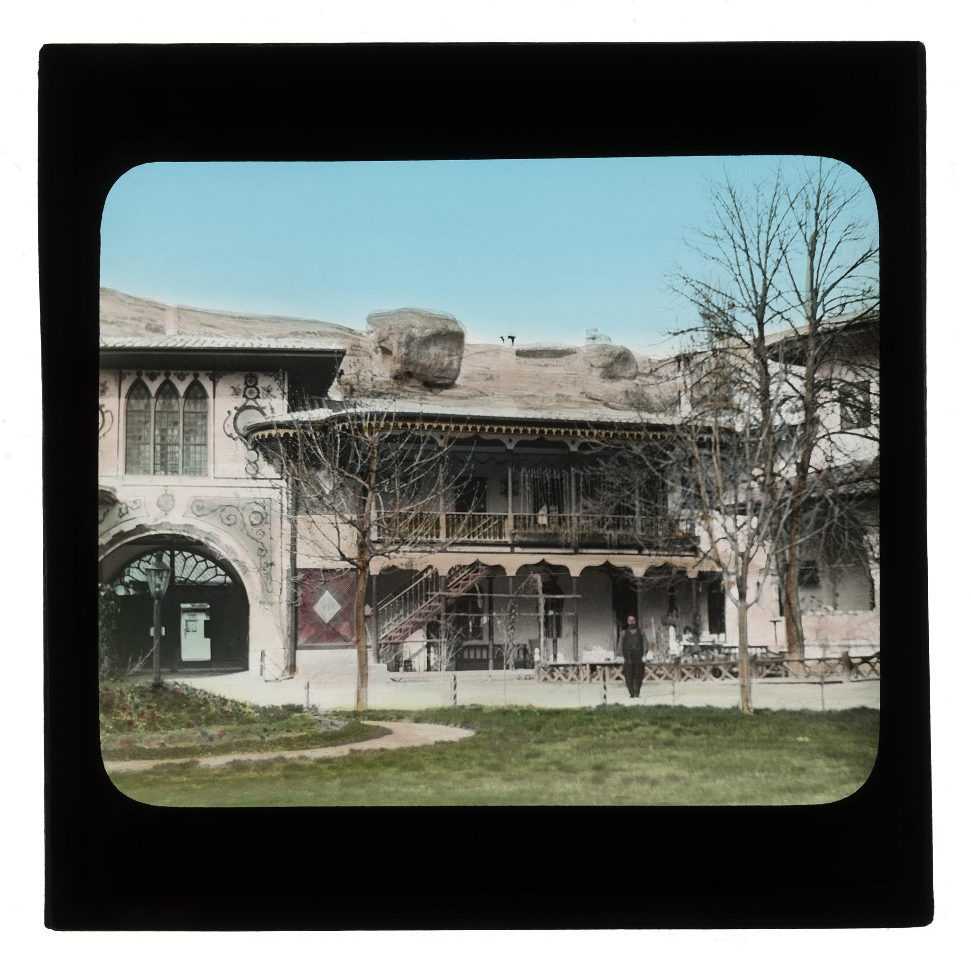 Постройки Ханского дворца в Бахчисарае