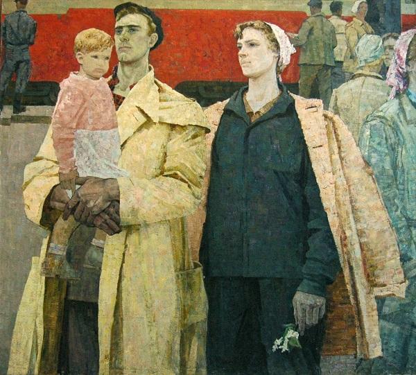 Алексей Гландин (1922–1988). Трудовые люди Кузбасса. 1964