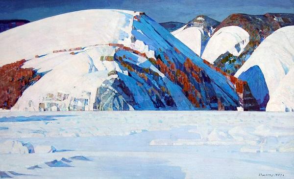 Иван Юшков (1914–1987). Сибирь — моя Родина. 1979