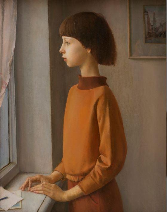Лариса Кириллова - Девочка у окна
