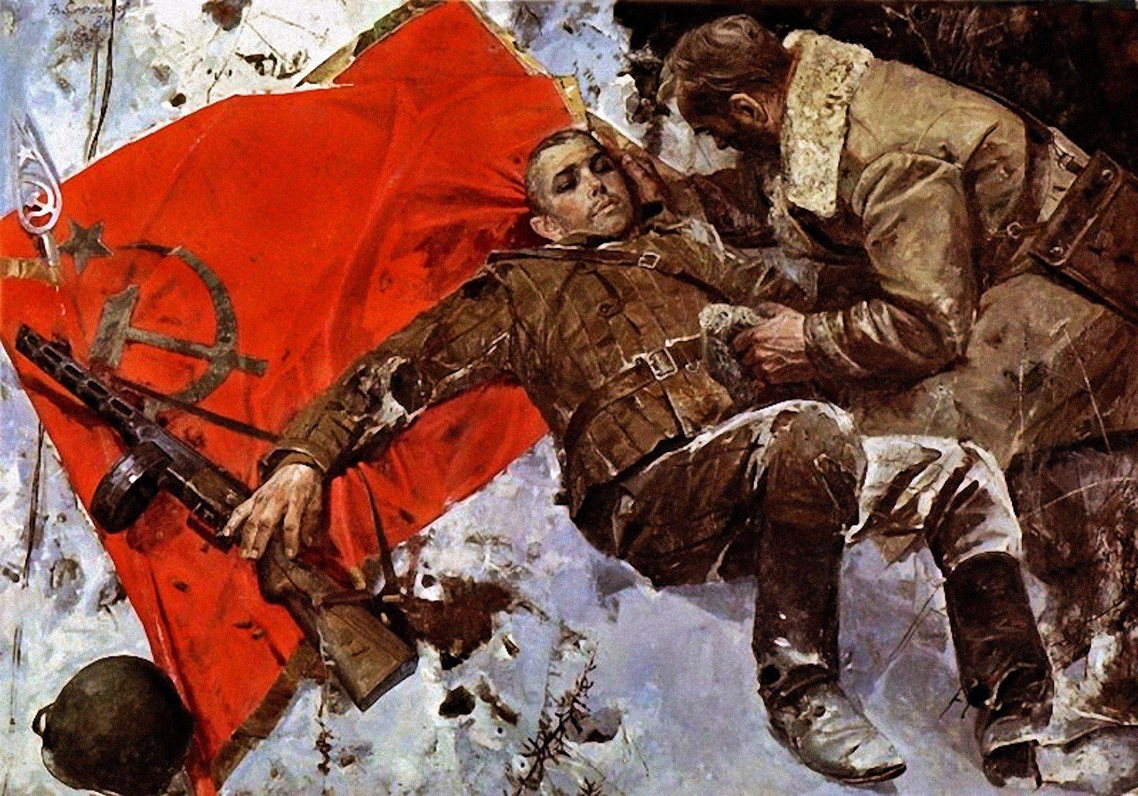 Виктор Сафронов _ Боевое знамя