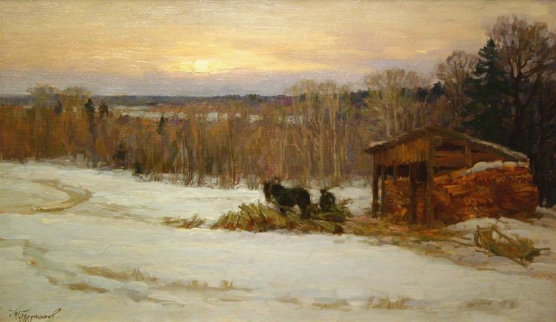 Николай Бурдастов - «На краю деревни», 1998