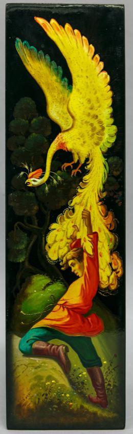 Панно «Жар-птица». 1968Автор живописи В. В. Лавров