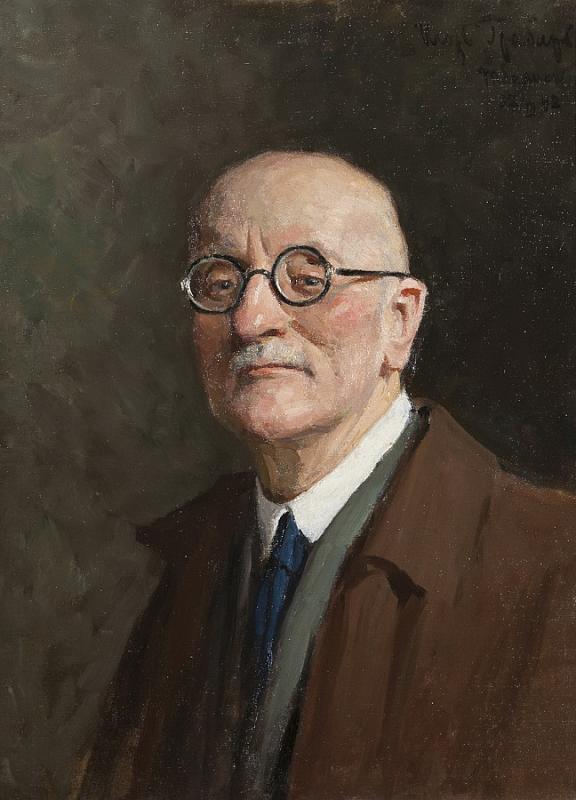 И. Грабарь. Автопортрет. 1942