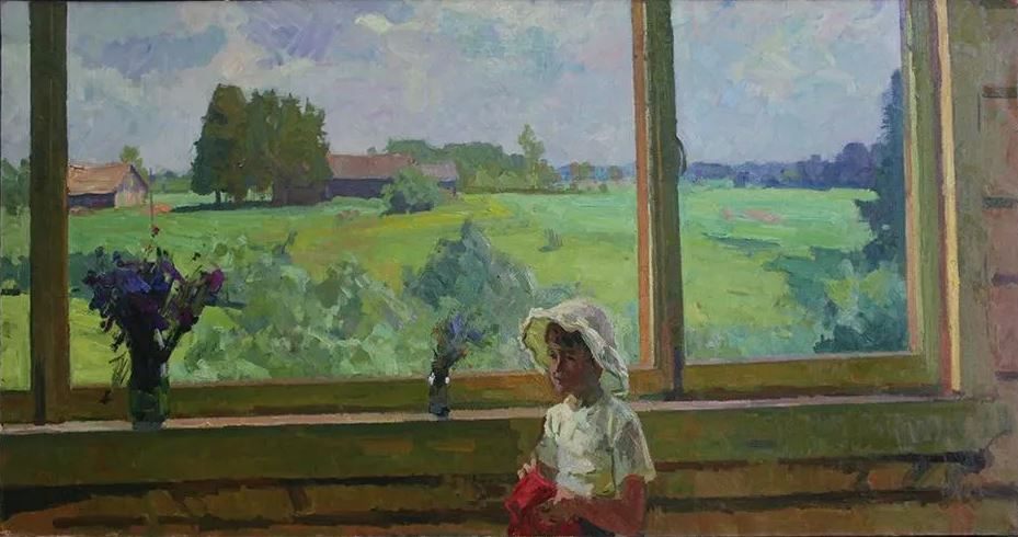 Александр Бубнов - Из окна мастерской, 1960-1961