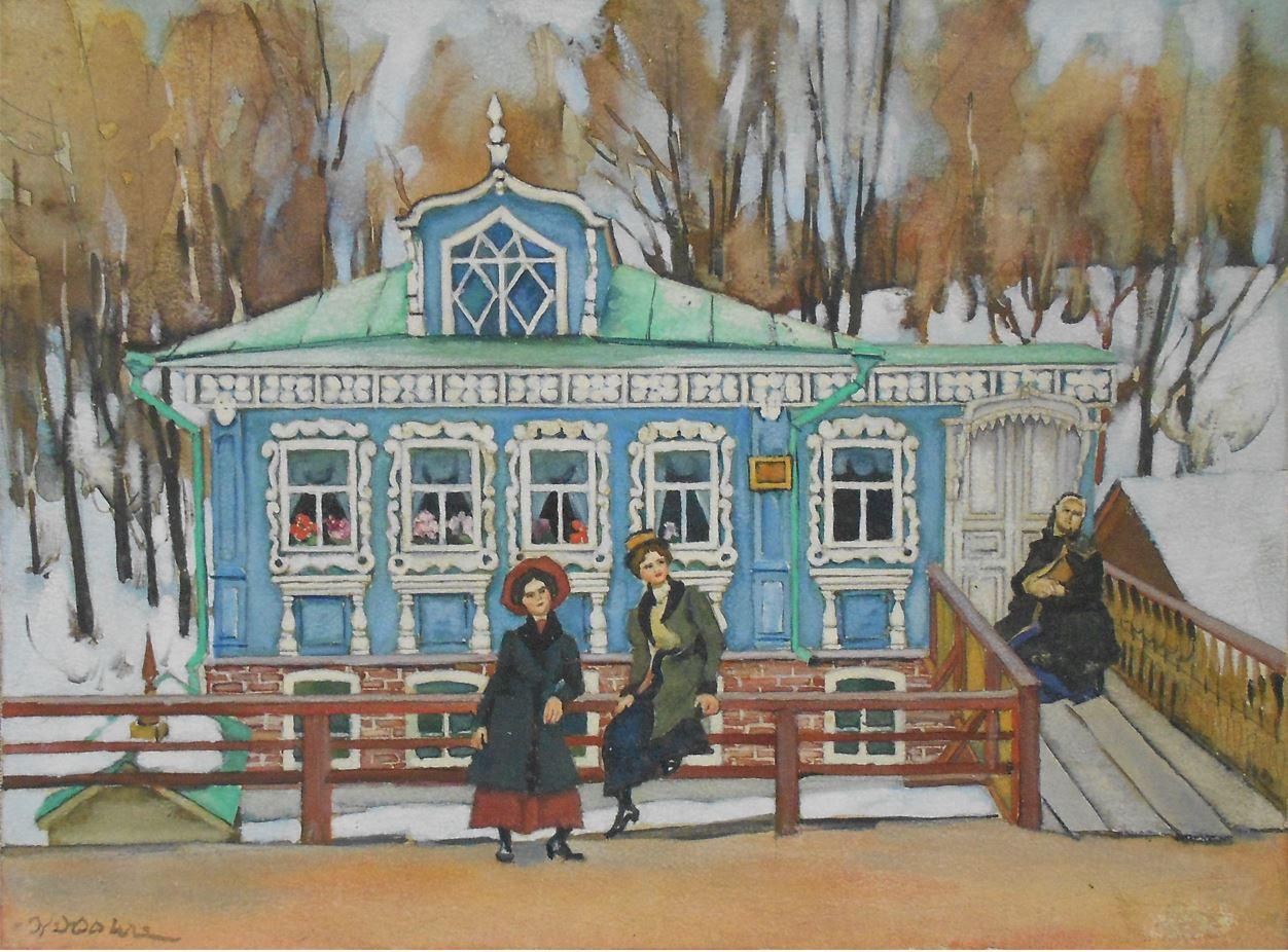 Юон К. Провинциалки. 1920-1922