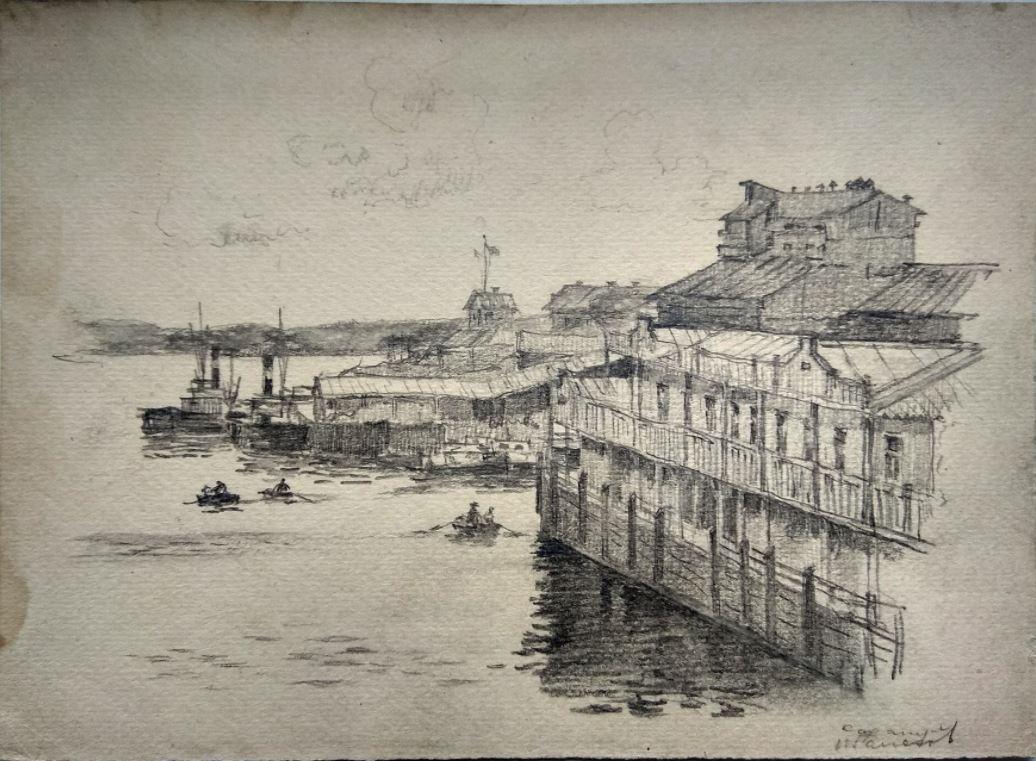 Рисунок Николая Галахова