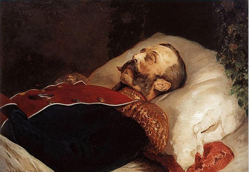 Константин Маковский - Александр II на смертном одре, 1881