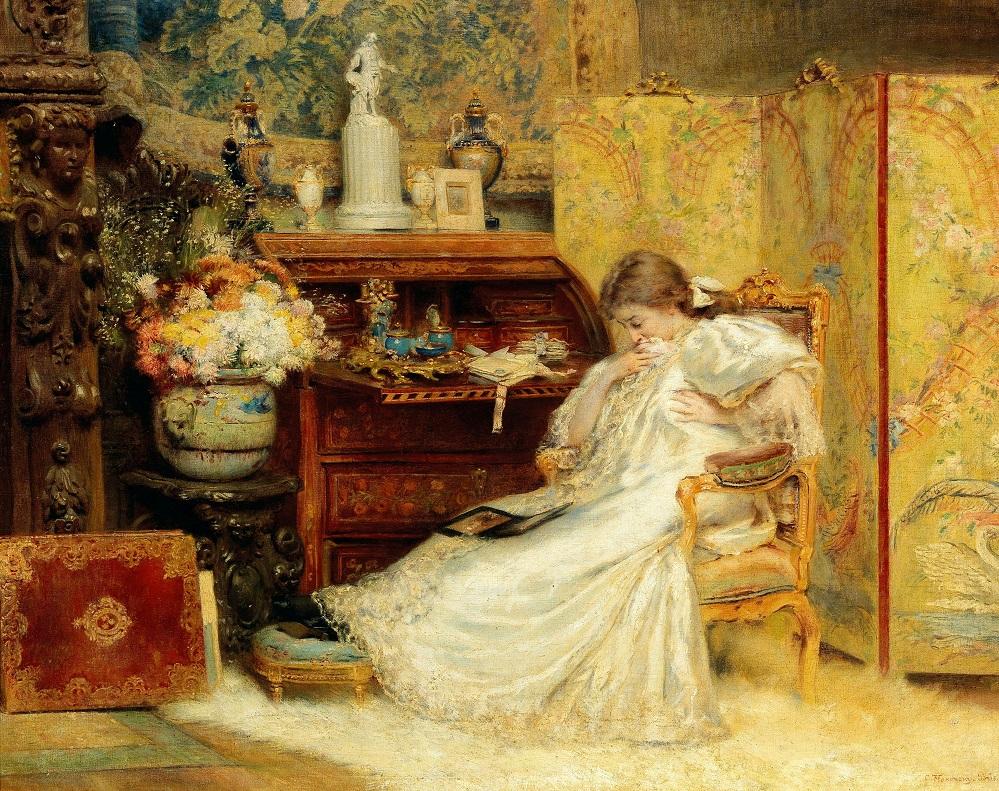 Константин Маковский - Хрупкое создание, 1897