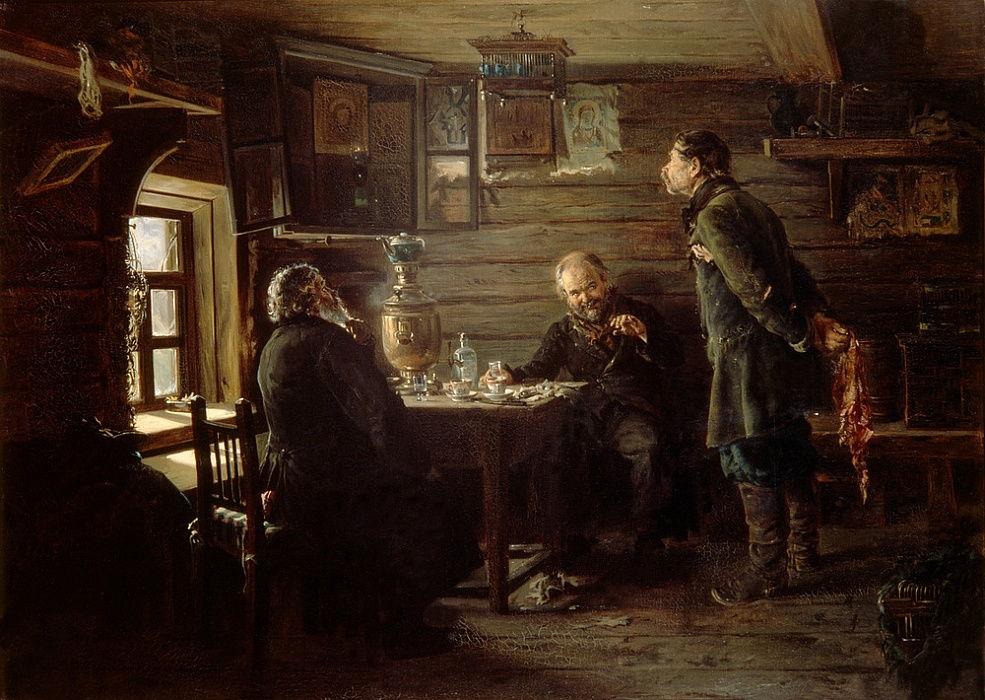 Владимир Маковский - Любители соловьев, 1873