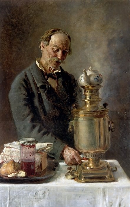 Константин Маковский - Алексеич, начало 1880-х