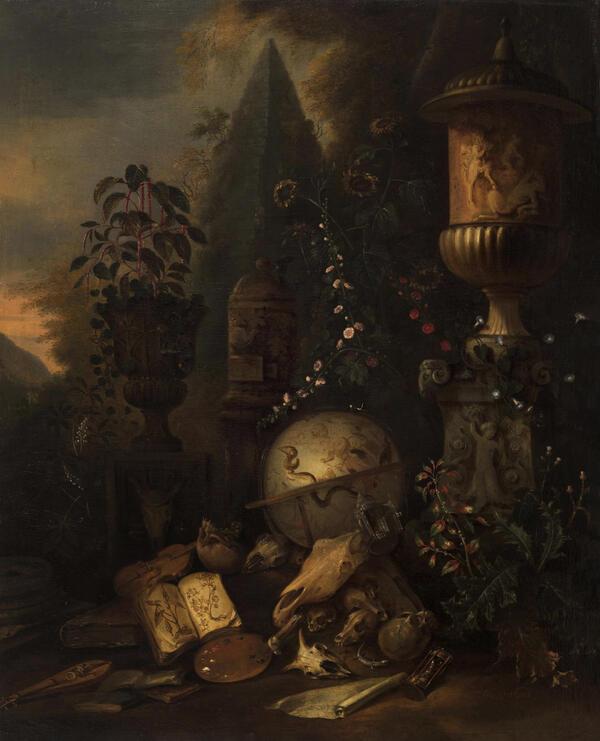 Маттиас Витхос - Суета сует, вторая половина XVII века